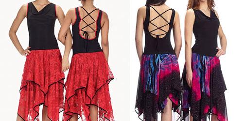 Eccezionale Abito da ballo salsa portoricana - Fashion touch italy XD68